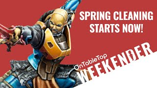 Weekender: Infinity CODE ONE Looking Ace & Join Our Spring Cleaning Hobby Challenge!