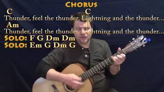 Thunder (Imagine Dragons) Strum Guitar Cover Lesson in C with Chords/Lyrics