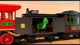 Toy Story 3 Western Train Chase - Lego 7597