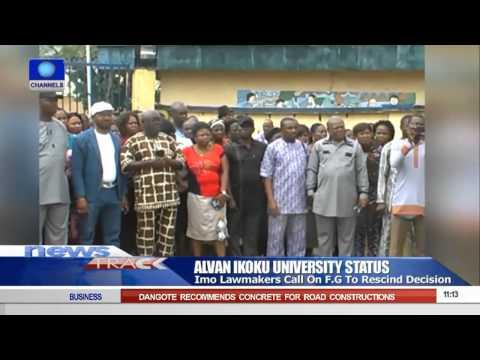 Alvan Ikoku University Imo Lawmakers Want FG To Rescind Decision
