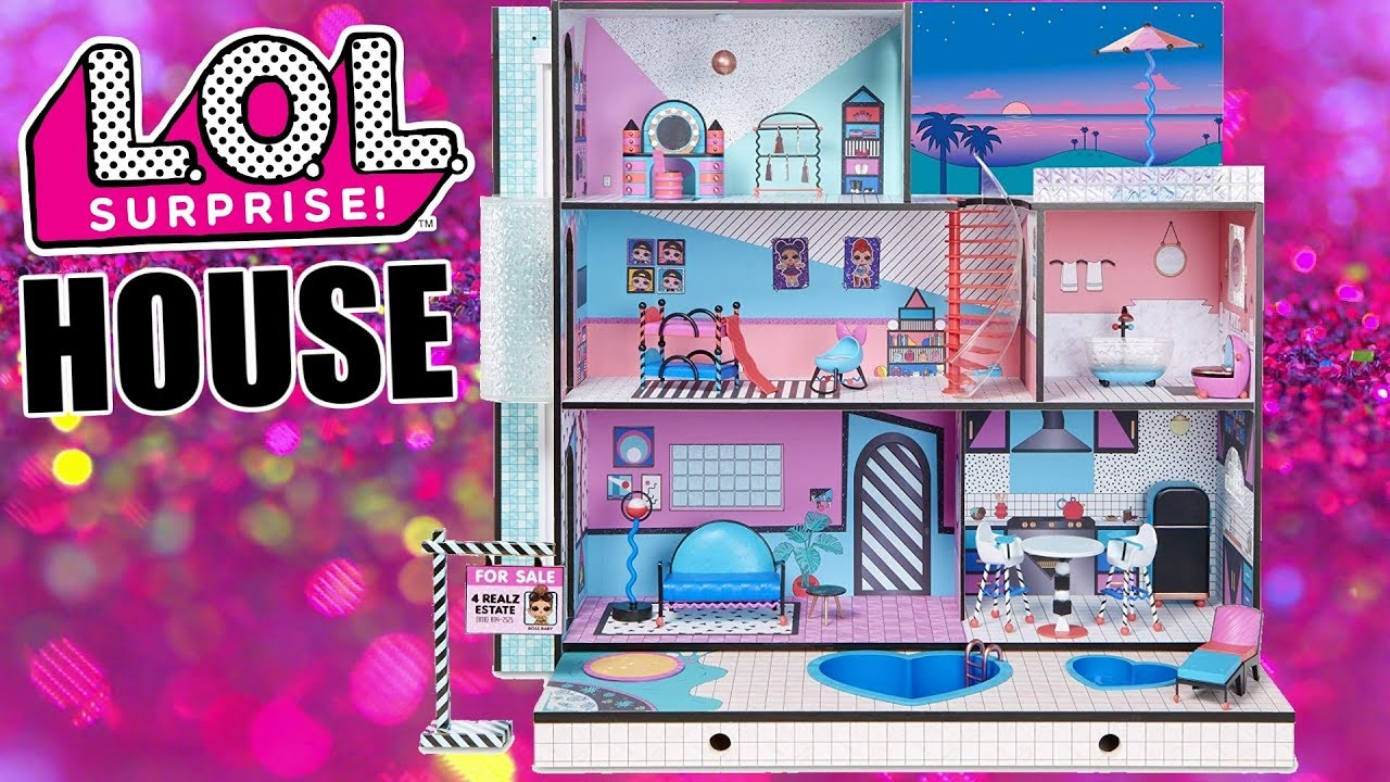 Preorder Lol Surprise House Now L O L Official Dollhouse Youtube