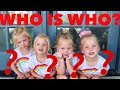 How To Tell IDENTICAL TWINS/QUADRUPLETS Apart🧒🧒👧👧WHOS WHO