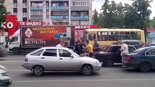 Разборки на дорогах # 1 сентябрь 2016