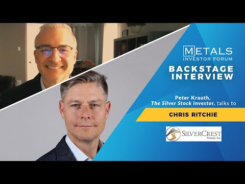 Company Update   Peter Krauth talks to Chris Ritchie of SilverCrest Metals Inc.