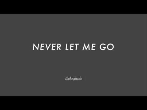 NEVER LET ME GO chord progression - Backing Track Play Along Jazz Standard Bible 2 Guitar