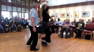 Salsa Dance Performance at Paint Branch UU Church, April 6, 2014
