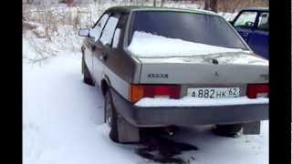 видео ВАЗ-21099 инжектор
