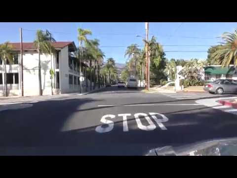 Driving in Santa Barbara - Part 1