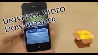 Universal Video Downloader - Télécharger des vidéos de n'importe quelle application