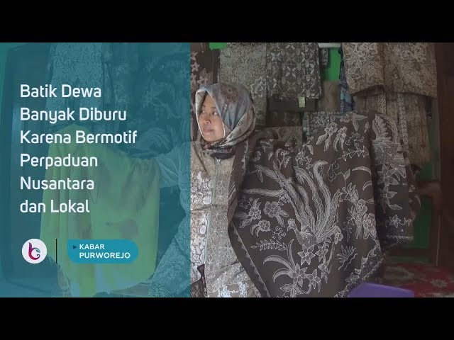 Batik Dewa Banyak Diburu Karena Bermotif Perpaduan Nusantara dan Lokal