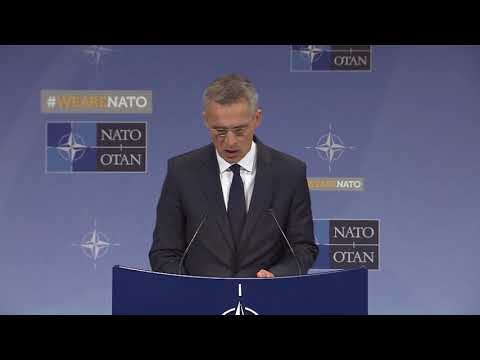 NATO Secretary General, Press Conference at Foreign Ministers Meeting, 27 APR 2018, Part 1 of 2