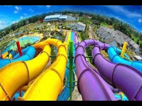 REVIEW WATERBOOM SANGKAN RESORT AQUA PARK KUNINGAN JAWA BARAT