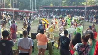 Winnebago pow wow 2016 grand entry 7/30/16