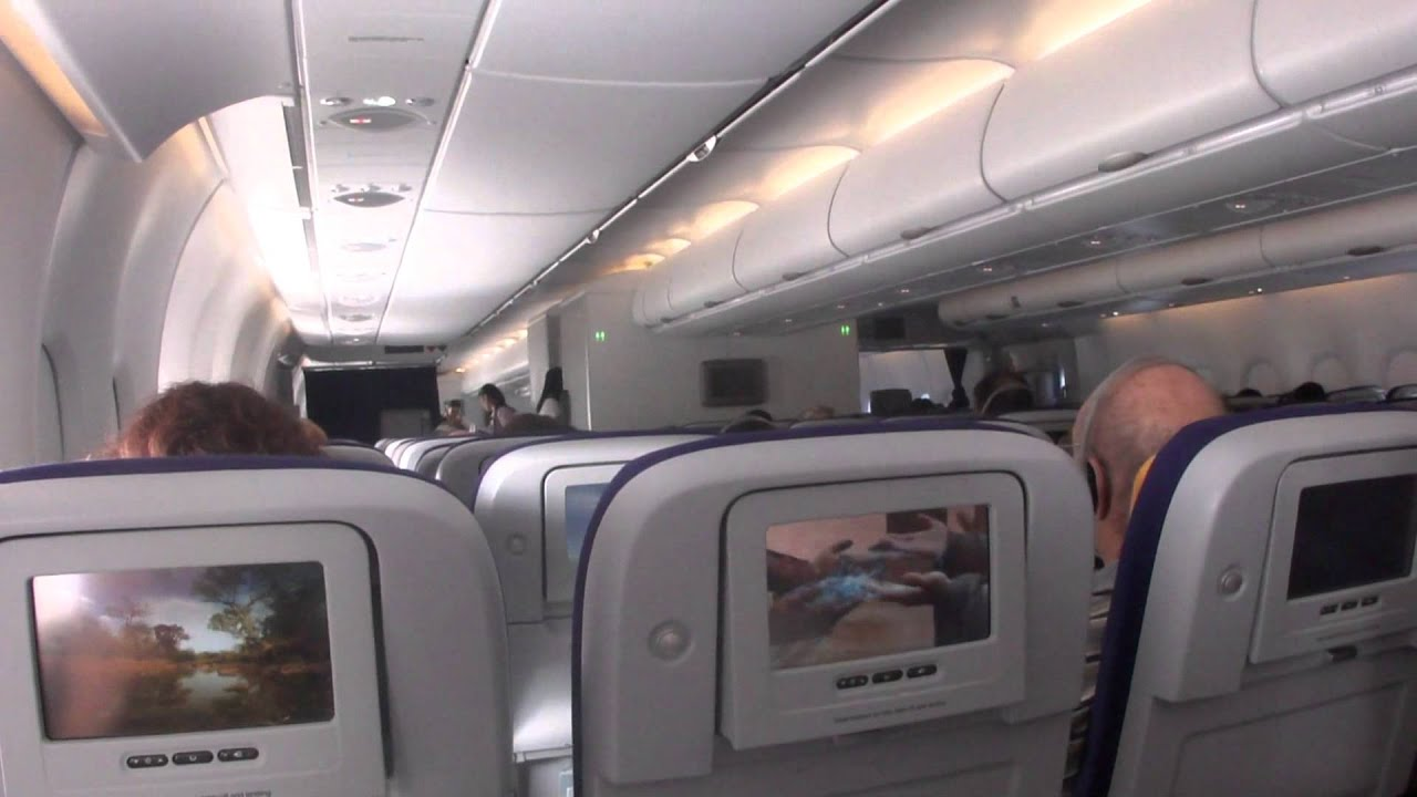 Inside Lufthansa Airbus A380 800 Youtube