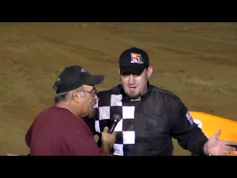 Dog Hollow Speedway - 8/18/17 358 Semi Late Feature Race