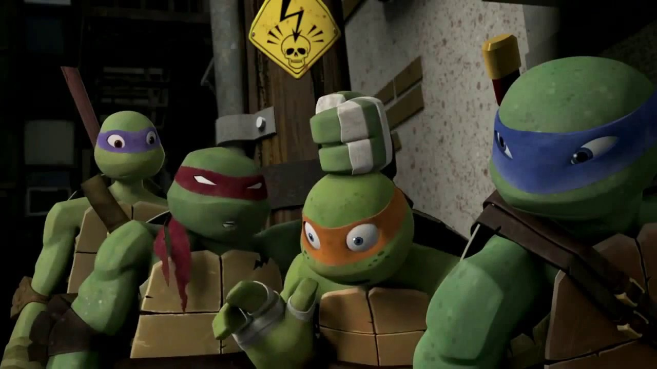 Tmnt 2012 Season 1 Mikey All Slap Youtube