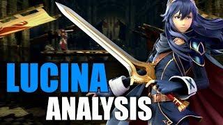 Lucina Smash Ultimate Analysis ( Moveset & BUFFS! )