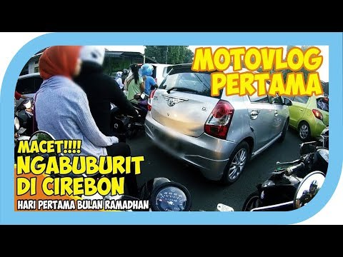 MACET: Ngabuburit Hari Pertama di Cirebon [ FINO MOTOVLOG ]