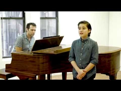 13 y/o Broadway star Joshua Colley sings 'If the World Only Knew