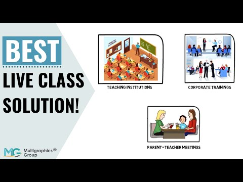Live Class Solution   Best Virtual Classroom Software   Online Learning