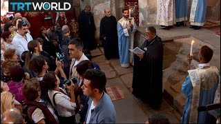 Armenian Cathedral Reopens: Orthodox Christians return to Van church