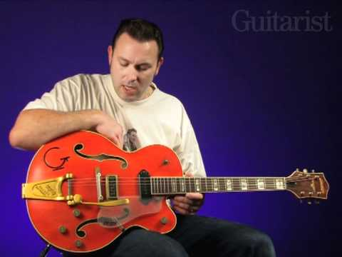 Gretsch G6120EC Eddie Cochran Tribute video review demo Guitarist Magazine