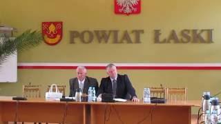 XXVII sesja Rady Powiatu �askiego cz.3