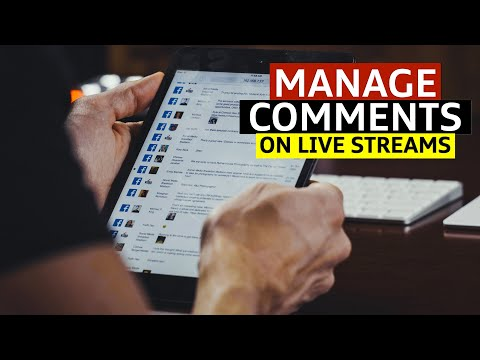 How to Manage Comment on Live Video | Handling Live Streaming Comments