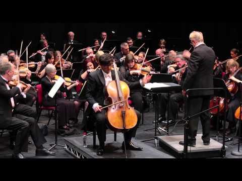 Dvorak Cello Concerto iii) Finale - Daniel Benn, Adrian Brown, Bromley Symphony Orchestra