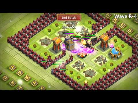 Jtisallbusiness Castle Clash Rank 1 IOS Player Farming HBM R