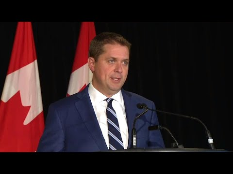 'Show up:' Scheer criticizes Trudeau for not confirming attendance at upcoming debates