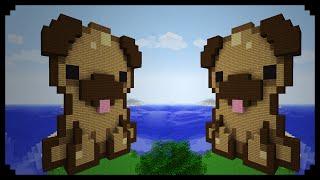 ✔ Minecraft: Pixel Art Friday (Pug Puppy)
