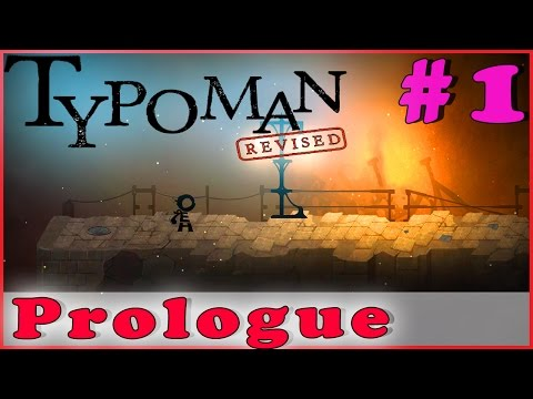 TYPOMAN: REVISED Walkthrough Gameplay | Prologue | PC Full Game HD No Commentary Complete Part 1