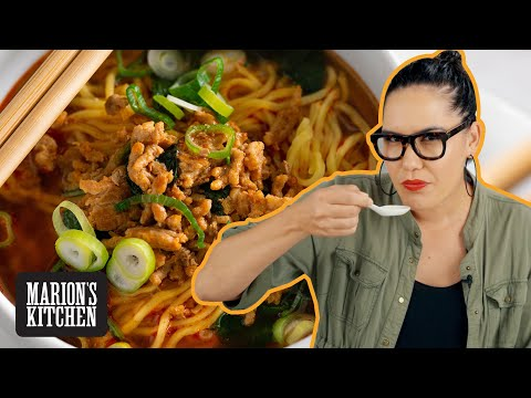 The spicy noodle soup I cook when I DON'T ACTUALLY have time to cook 😅🍜😅 | Marion's Kitchen