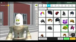 Watch me making myself as a Pennywise! (Robloxian Highschool)