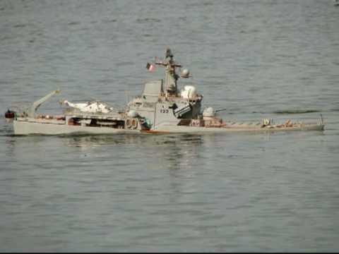 sinking ships rc modelu fregatympg youtube