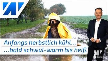 Erst schöner Regen, doch bald schwül-heiß und explosiv! EXTRA: Bilder von der Wetterstation Lingen!
