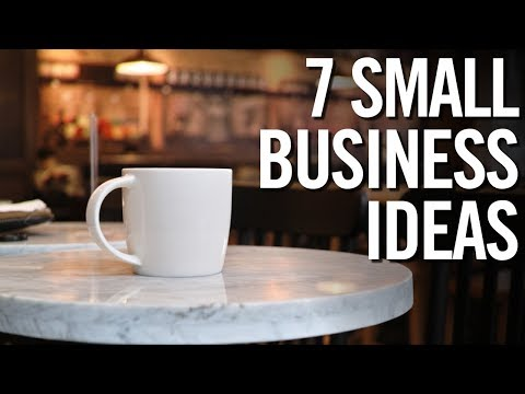 7 PROFITABLE Small Business IDEAS for 2017!  💰 Entrepreneur Advice