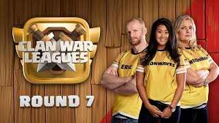 Clan War Leagues FINAL ROUND Clash of Clans Round 7