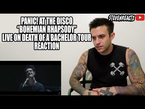 Panic! At The Disco Bohemian Rhapsody (QUEEN) Live REACTION