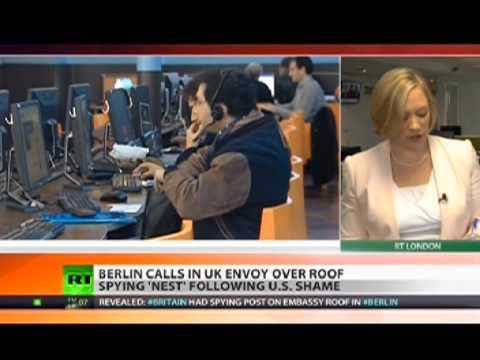 UK has been spying on Angela Merkel too!!