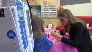 Sarah Ryan Hosts Pink Party At Children's Healthcare of Atlanta