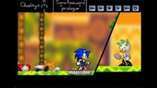 me and my friends play sonic game online