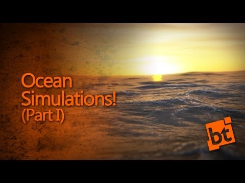 How to simulate an Ocean in Blender (Part 1)