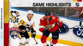 Penguins @ Panthers 10/14/21 | NHL Highlights
