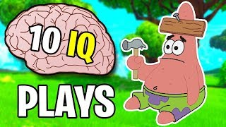 When Fortnite STREAMERS have 10 IQ (funniest fails of all time)