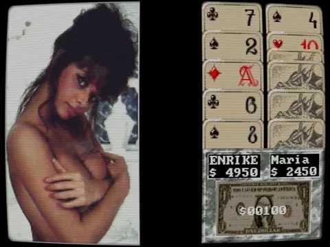Cover Girl Strip Poker (PC) - Maria Whittaker