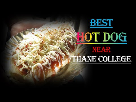 BEST HOT DOG NEAR THANE COLLEGE   OH MY FOOD   PART 1