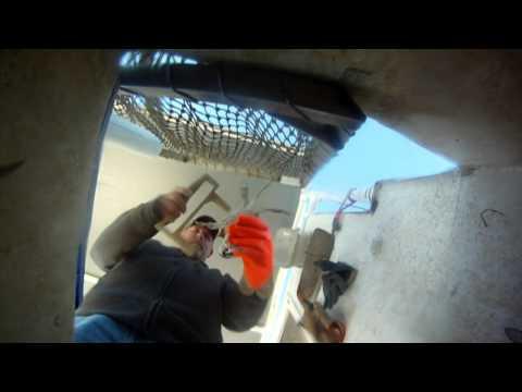 trotline crabbing in Maryland under water2