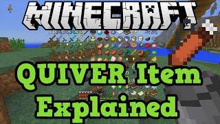 Minecraft Xbox + PS3 + PS4: Quiver Explained - Hidden Item